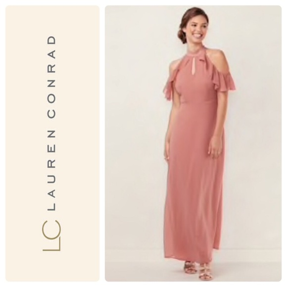 29cabdb5c80ab Lauren Conrad Ruffle Maxi Dress